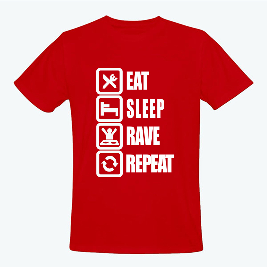 Summer style eat sleep game men t shirt casual college for T shirts for college guys