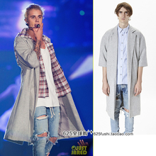 2016 new Justin bieber gd the trend of fashion street style short sweater overcoat outerwear(China (Mainland))