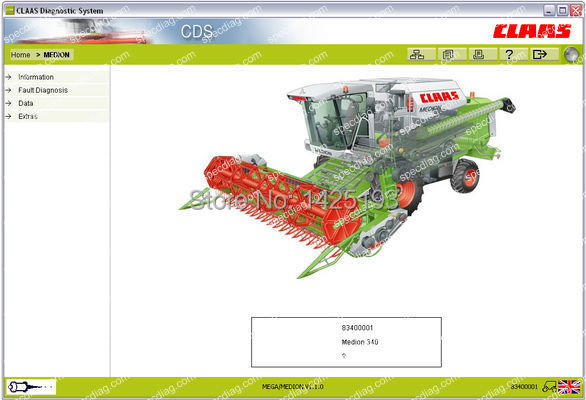 CLAAS CDS 7.1 [Update 2014] with Crack [ Support to change protected options, dont need key](China (Mainland))