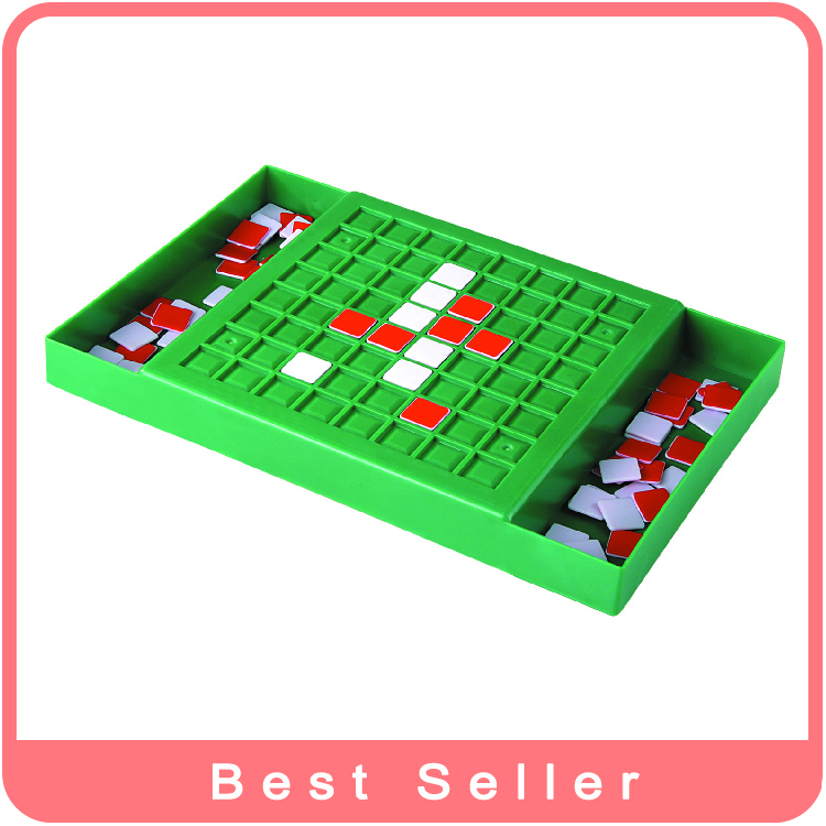 Manufacturer Product Fashion Toy Reversi Toy Belt Folding Board Game Chess Toy Free Shipping 3D Slide Puzzle Preschool gift toy(China (Mainland))