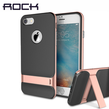 Buy ROCK Royce Kickstand Case Apple iPhone 7/7 Plus Luxury Brand Phone Cases PC+TPU Phone Sleek Stand Cover iPhone 7 for $9.99 in AliExpress store