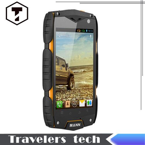 Hot sales!Original MANN phone ZUG 3 A18 IP67 Quad Core Waterproof Mobile Phone 1GB RAM 4GB ROM IPS Dustproof Shockproof runbo X5(China (Mainland))