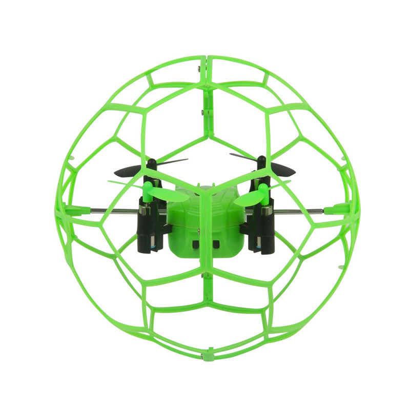 Top Quality Mini Drone Helic Max Sky Walker 1340 2.4GHz 4CH Fly Ball  RC Quadcopter 3D Flip Roller RC Helicopter toys