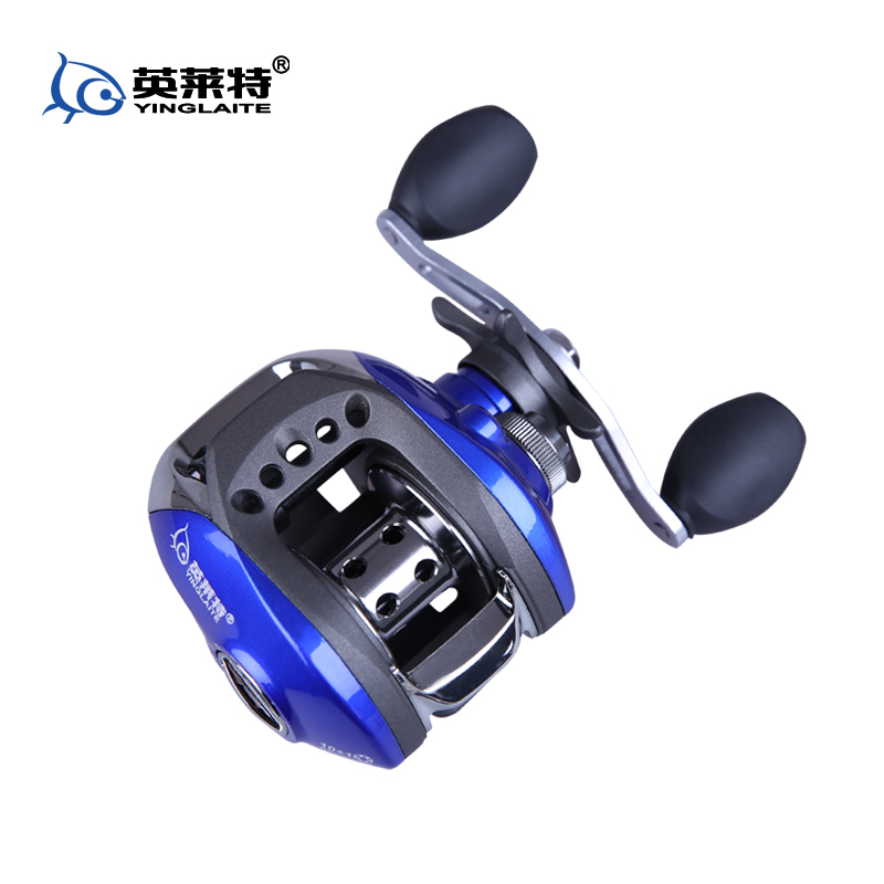 Fishing reel drop round magnetic dripping wheel full metal for Fish drops reels