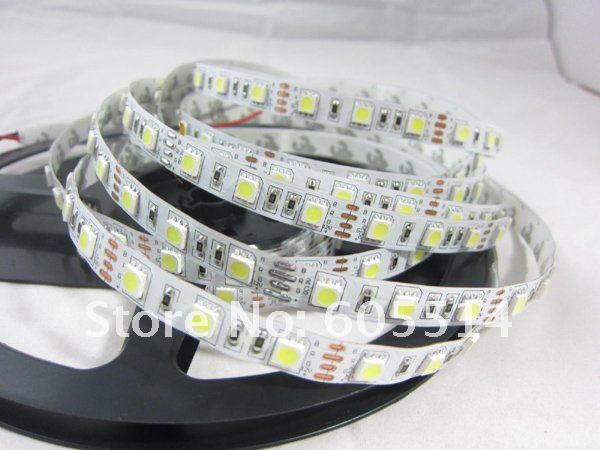 [Seven Neon]20meters non-waterproof nature white 60leds/m flexible 5050 led smd strip for Christmas lighting
