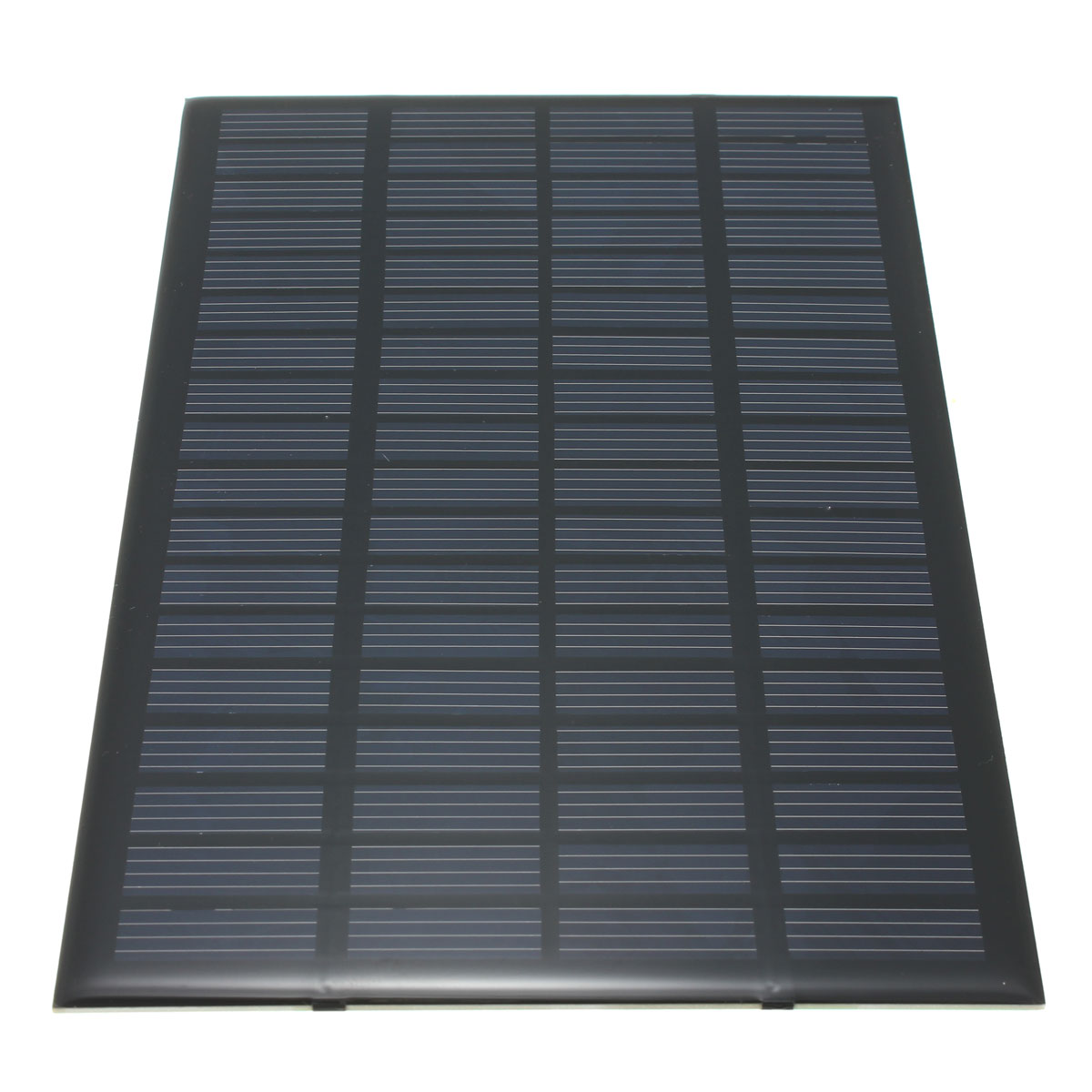 Excellent quality 18V 2.5W Polycrystalline Stored Energy Power Solar Panel Module System Solar Cells Charger 19.4x12x0.3cm(China (Mainland))