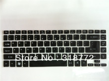 1PC free ship  Keyboard Skin Cover for Acer Aspire V5-431 V5-471P V3-471G V5-471G M5-481G 4830 4830T 4830TG 3830T Aspire 4755G