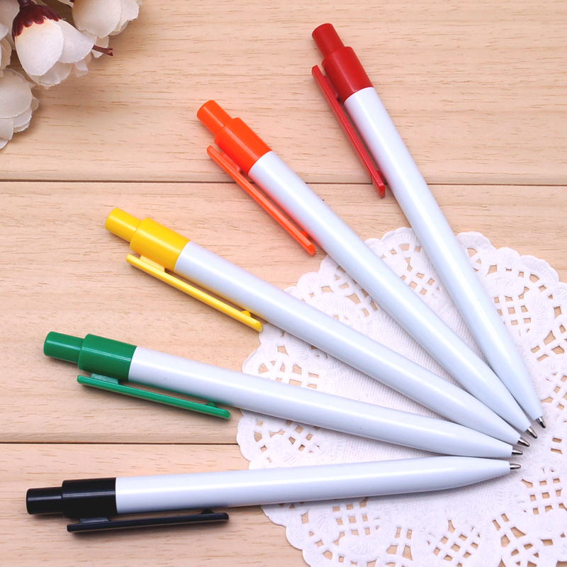 Candy color ballpoint pen advertising pen Best promotion gift for Exhibition print customer's LOGO and company name for free(China (Mainland))