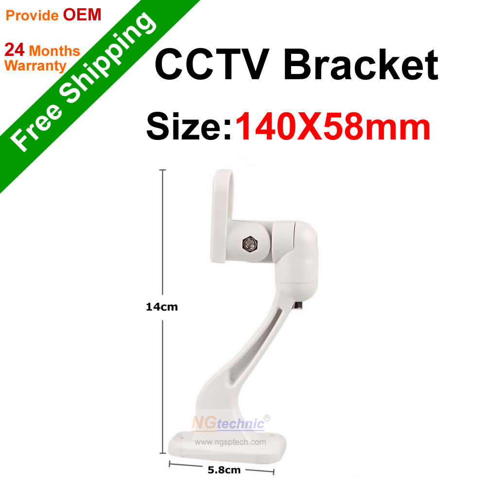 Free Shipping Universal Metal White Wall Mount Stand Bracket for CCTV Security Camera<br><br>Aliexpress