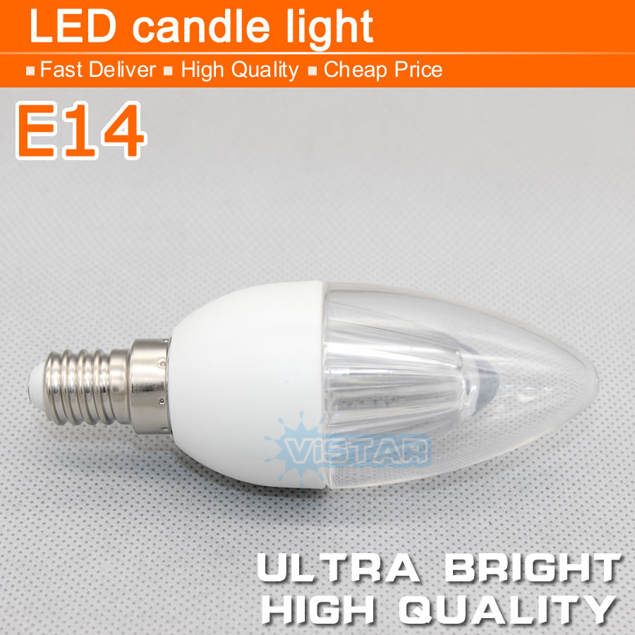 Wholesale 5w 7w led candle lamp e14 base candle bulb ac 220v 240v led candle light smd2835 10pcs crystal bulb warm cold white(China (Mainland))