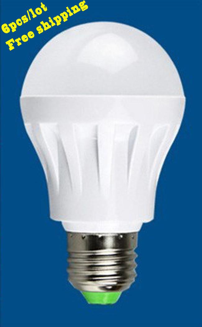 Светодиодная лампа Domini 6pcs/e27 E14 3W 2835 SMD 220v,
