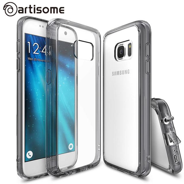 Ударопрочный Чехол Для Samsung S7/S7 Edge Крышка Кристалл Силикона ТПУ Телефон Сумка Для Samsung Galaxy S7/S7 Edge Случае ARTISOME