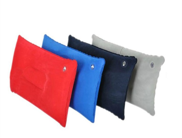 outdoor pvc pile coating inflatable pillow travel pillow camping pillow free square shaped inflatable pillow shipping
