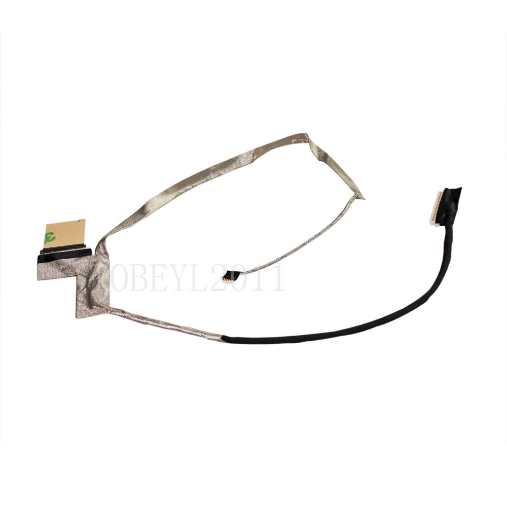 LCD Video Flex Screen Data Cable Wire Line For Toshiba L875 L875D L870 C875 C875D C870 c870D H000037860 Laptop Series(China (Mainland))