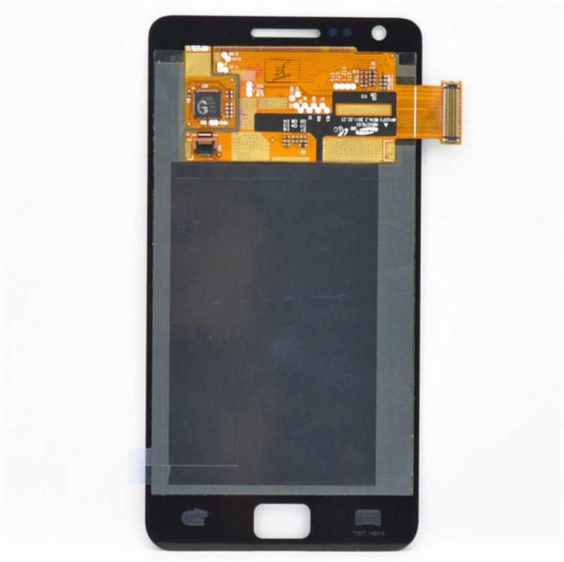 100% Quality i9100 lcd For Samsung Galaxy S2 i9100 LCD Display+Touch Screen Digitizer Assembly +adhesive+tools, By DHL/EMS