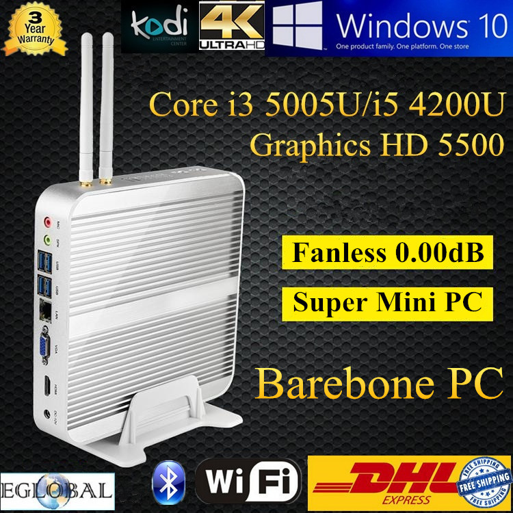 Cloud Computer Terminal Server Thin Client With Haswell CPU Intel Core i5 4200U i3 5005U HD 5500 Minipc HTPC Ram Dual-Channel(China (Mainland))