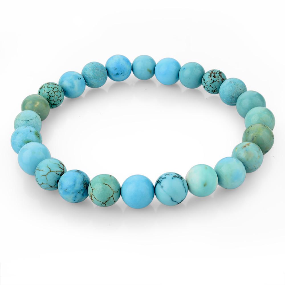 Tiger Eye Love Brand Buddha Bracelets Bangles Elastic Rope Chain Natural Stone Friendship Bracelets For Women