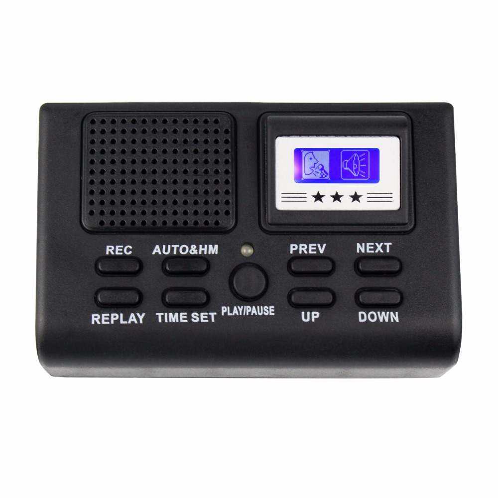 Hot Mini Digital Telephone Voice Recorder Phone Call Monitor with LCD Display Support SD Card Wholesale Y4307A1(China (Mainland))