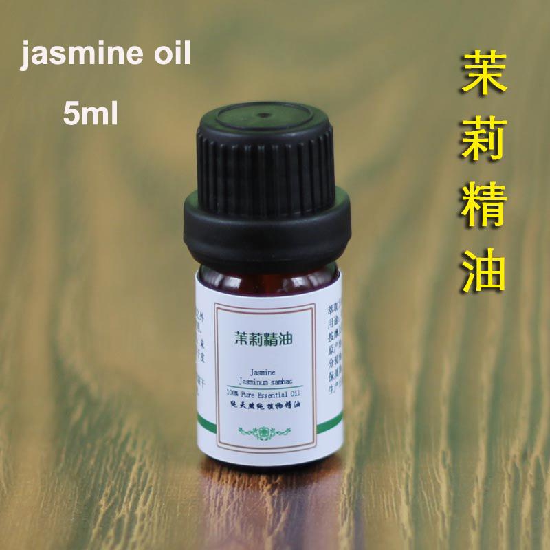 Natural Pure 100% Jasmine Essential Oil 5ml ,Fragrance, FRESH,Skin Care(China (Mainland))