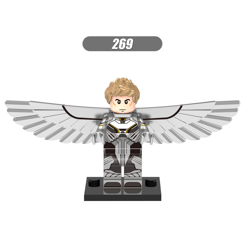 50Pcs/lot Marvel X-Men Apocalypse Super Heroes Angel Archangel Minifigures Building Brick Toy Compatible with Legoes(China (Mainland))
