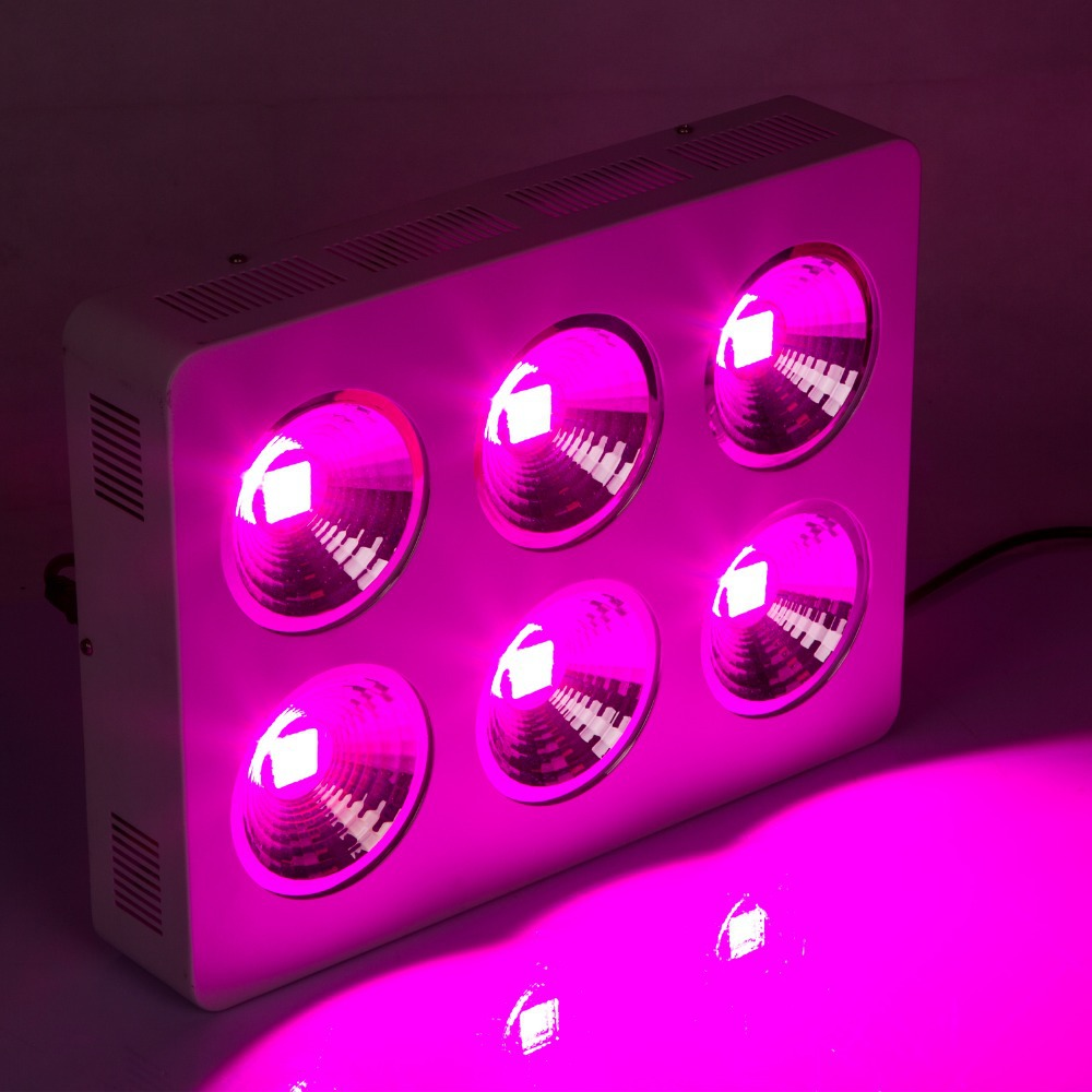 Free shipping 2pcs 600w led grow light cob 32x3w full spectrum led grow lamps for hydroponic plant<br><br>Aliexpress