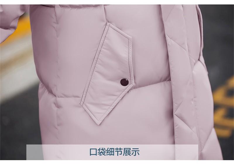 Скидки на 2016 Зима Новое Пальто Куртки Женщин Корейской Плюс Размер Капюшоном Вниз Куртка Парка Пальто женщин Хлопка-ватник толстые Длинные Пальто