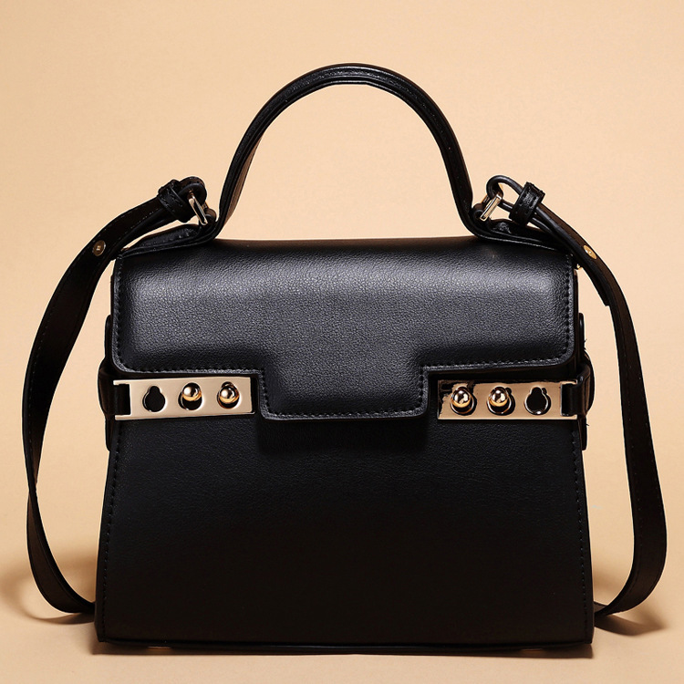 fashion handbags woman women's 100% genuine leather totes girls lady cross body handbag mini small Luxury famous Delv**