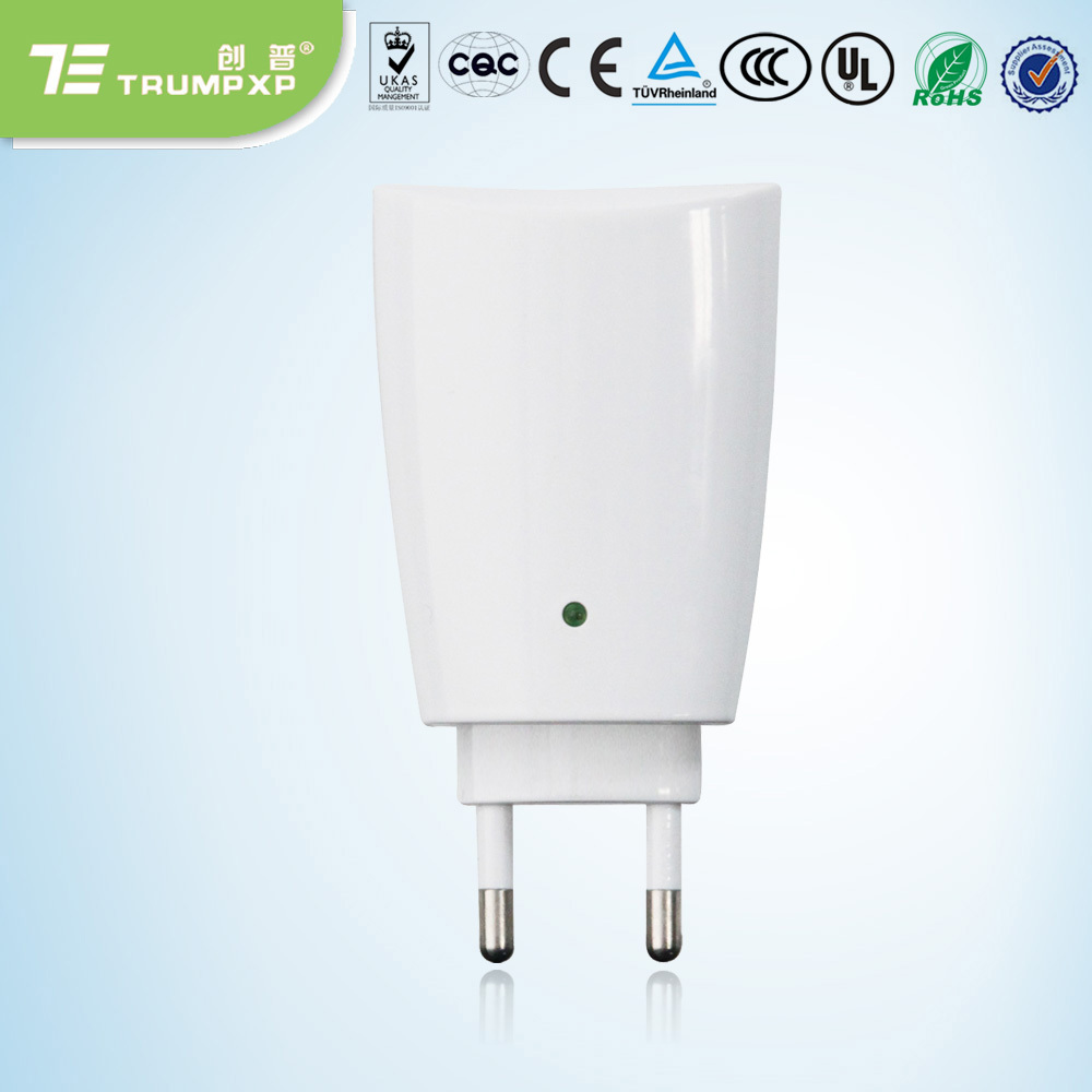 5 pcs/lot Home dust collector ion ozone air purifier electrical plug air cleaner(China (Mainland))