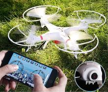 HuanQi 898B 2.4G 4CH 6-Axis R/C Quadcopter R/C Drone With/without wifi FPV HD camera smartphone gravity induction control