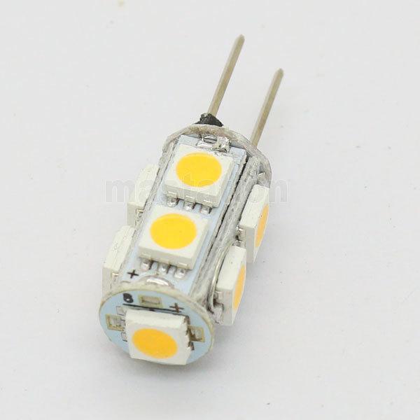 Источник света для авто 10pcs/lot G4 9 SMD 5050 12V источник света для авто 10pcs lot g4 9 smd 5050 12v