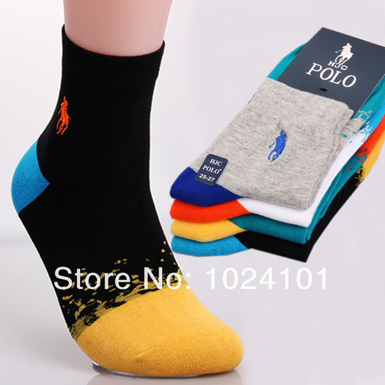 Free Shipping Men's Sports socks Male cotton socks high quality bussiness Casual socks men,mix colors,10pcs=5pairs=1lot,hot sale(China (Mainland))