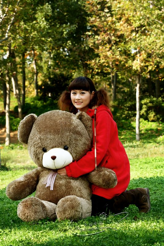 about 80cm huge teddy bear plush toy doll toy t4394(China (Mainland))