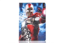 Marvel's Captain America: Civil War iron Man PU Leather Stand Flip Case Cover for iPadMini 1/2/3(China (Mainland))