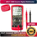 Uni t UT58C Standard Electrical Digital Multimeter Volt Amp Ohm Hz Temperature Tester Meter