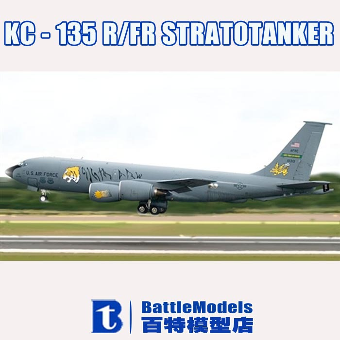 ITALERI MODEL 1/72 SCALE military models #1281 KC - 135 R/FR STRATOTANKER plastic model kit(China (Mainland))