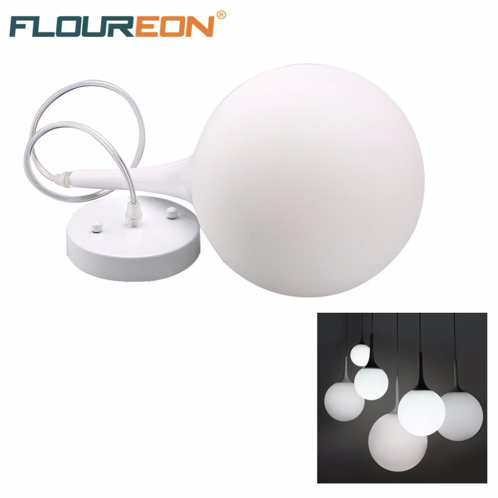 Floureon Modern Led Pendant Lights,Suspension Pendant Lamp for Dining Room Spherical Lamp Home Decoration Lights(China (Mainland))