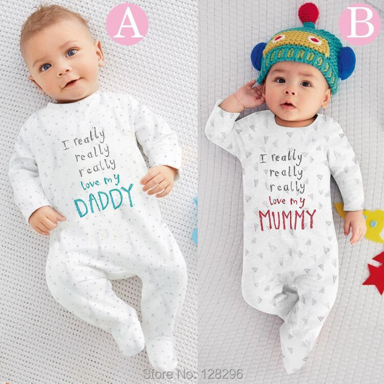 2 baby months white vest with muticoloured rainbow stripes and writing I love mummy I love daddy and I love cuddles. Could be for a boy or girl George at Asda Baby Romper Bodysuit Jumpsuit Winter Warm Clothes I Love Mummy Daddy Infant UK.