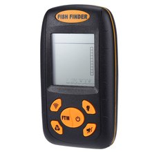 100M Portable Sonar LCD Fish Finder Equipment Wireless Alarm Fishing Tackle WIth Englis Manual Deeper Fishfinder(China (Mainland))