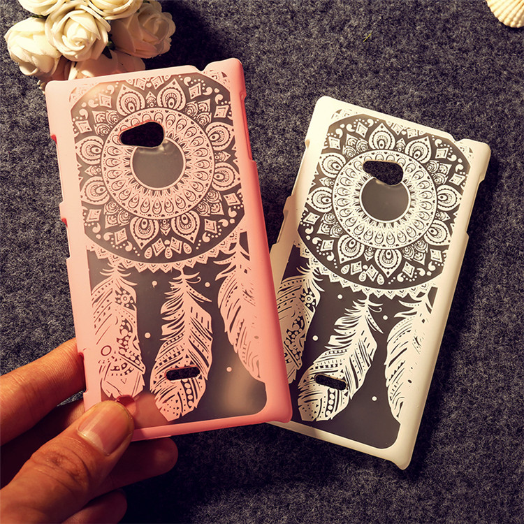 New Arrival Fashion painting Colorful Dream catcher Flower Design Case For Nokia Lumia 720 N720 Phone Back cover for Nokia 720(China (Mainland))