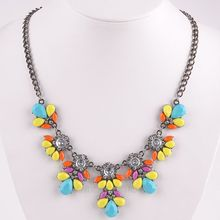 Hot Sale!! Vintage Crystal Pendants Fashion Cool Girls Rhinestone Necklace Flowers Style bracelet Fashion Jewelry MHM188*60(China (Mainland))