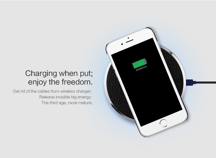 Nillkin Magic Disk Qi Wireless Charger For Samsung S6 Edge Plus Lumia 930 Nexus 6 5X Wireless Charging Digital Device
