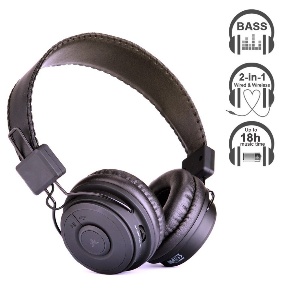 Avantree Dual Mode Bluetooth Stereo Headphone, Both Wireless AND Wired, Long (18h) music time, good sound quality - Hive(China (Mainland))