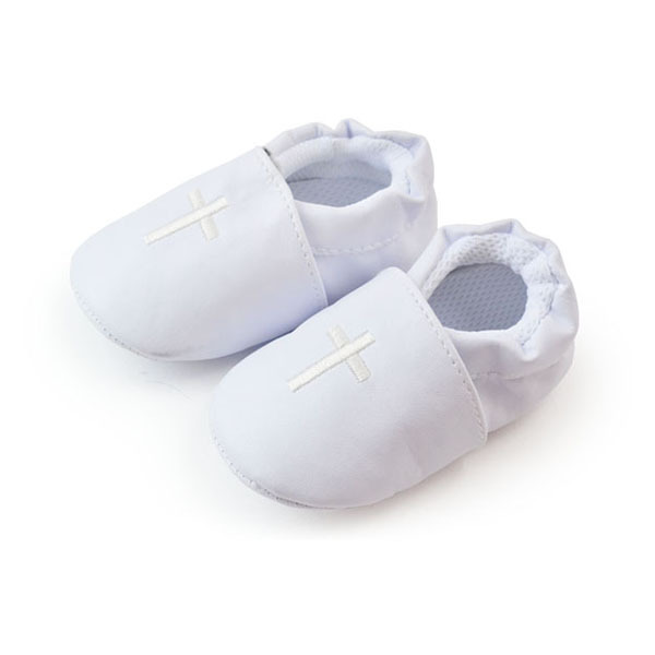 Stylish Baby Boy Girl Cross Baptism Christening Shoes Church Soft Sole Leather Shoes Free & Drop shipping