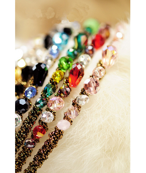 New 2014 Fashion Retro Rhinestone Crystal Hair Bands Alice Band Headband Sparkling Beads Vintage Style Jewelry Hair Head Band(China (Mainland))