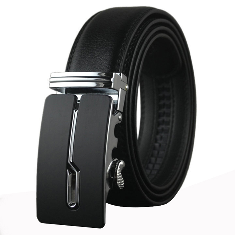 Belt 2016 designer automatic buckle Cowhide Leather men belt luxury fashion business belts for men