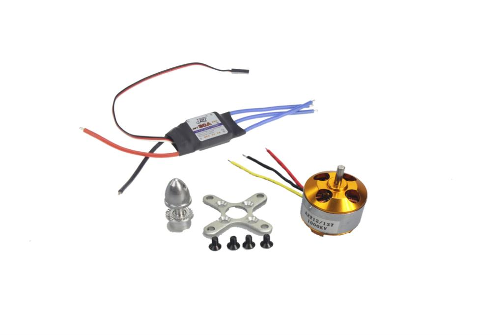 F02015-z A2212 1000KV Brushless Outrunner Motor 13T + 30A Speed Controller ESC ,RC Aircraft 4 Axis Quadcopter UFO +Free shipping