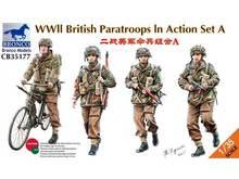 Bronco CB35177 1/35 WWII British paracaidistas antibalas acción estableció un