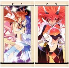 45X95CM Senki Zesshou Symphogear hibiki tsubasa chris art cartoon anime wall picture mural scroll cloth canvas painting poster
