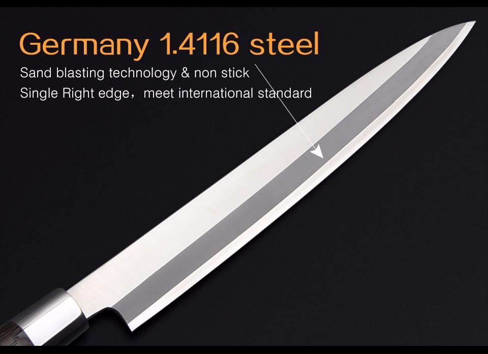 Buy 300mm Stainless Steel  Japanese Kitchen Knife Sushi Knife Japanese professional Sashimi knife Factory direct sales cheap