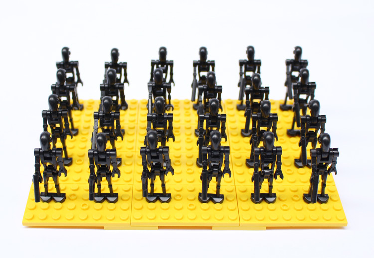 Star Wars Robot Clone Troopers Soldier Figures 24pcs/lot Lego Compatible Building Blocks Sets Model Classic Bricks Toys Enfant(China (Mainland))